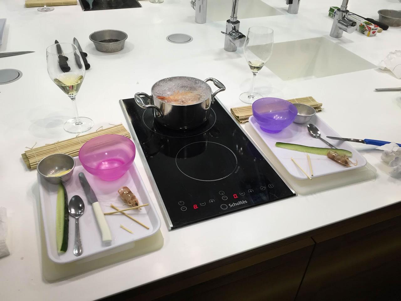 Imparare a fare il sushi presso Toffini Academy preparazione sushi