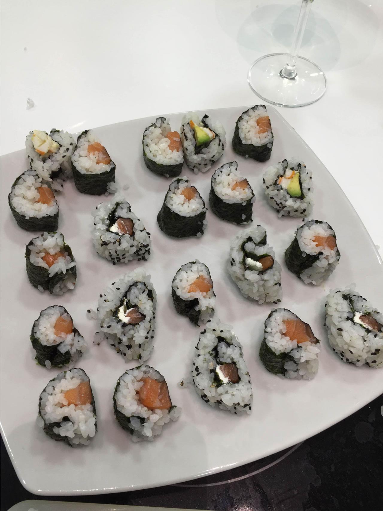 Imparare a fare il sushi presso Toffini Academy preparare sushi