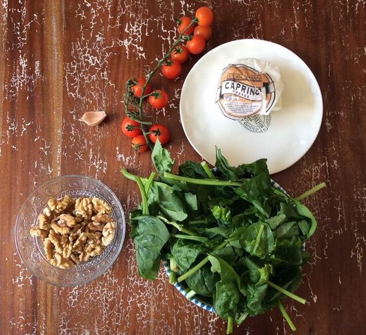 Mix di calcio, fosforo e magnesio: il pesto di spinaci