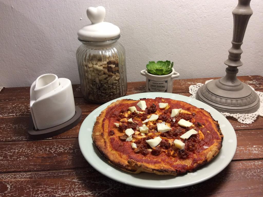 pizza napoletana con il bimby