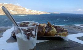 3 cose da mangiare, bere e nuotare nella città di Mykonos mykonos