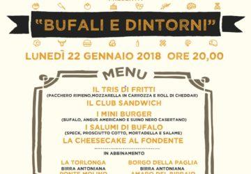 22 gennaio Mannaia Bufali e dintorni