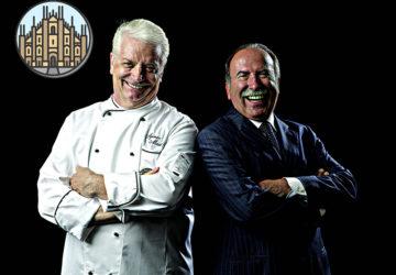 Iginio Massari e Gino Fabbri a Milano