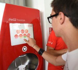 Coca cola freestyle dispenser