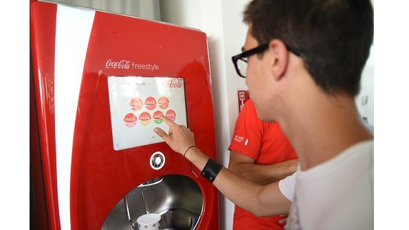 Coca cola freestyle dispenser