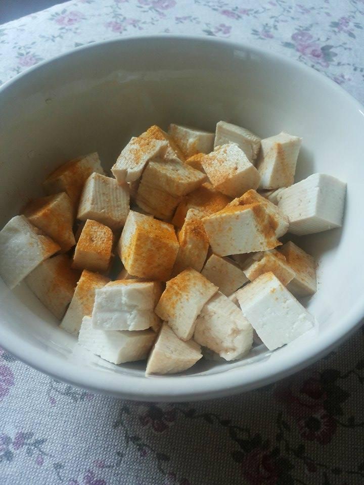 Polpette vegane al tofu