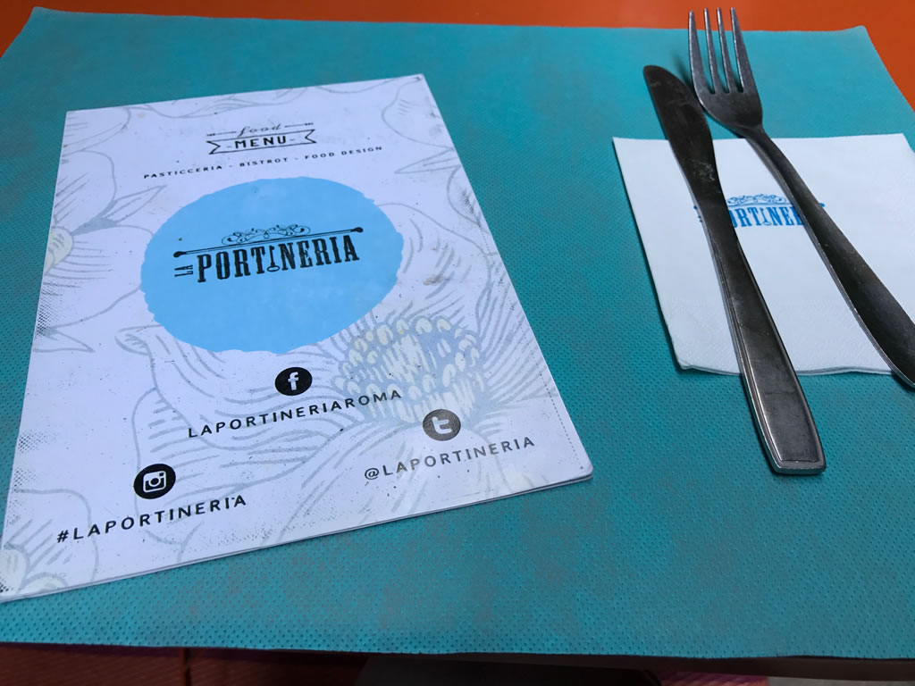 La Portineria: A Roma una pasticceria, bistrot dalla colazione all'aperitivo.