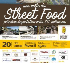 Una Notte da Street Food: percorso degustativo il 20 dicembre a Pozzuoli