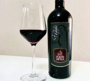 Il sapore dell'uva raccolta in vigna nelle bottiglie di vino di Porto di Mola