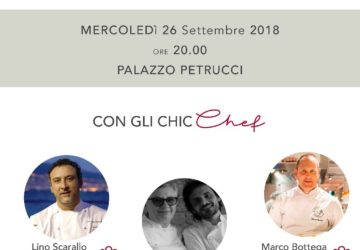 Locandina cena Chic Palazzo Petrucci