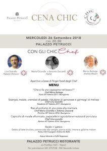 menu cena palazzo petrucci