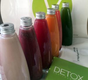 Detox box: 6 estratti di frutta e verdura in un solo giorno e perdi fino a 2kg