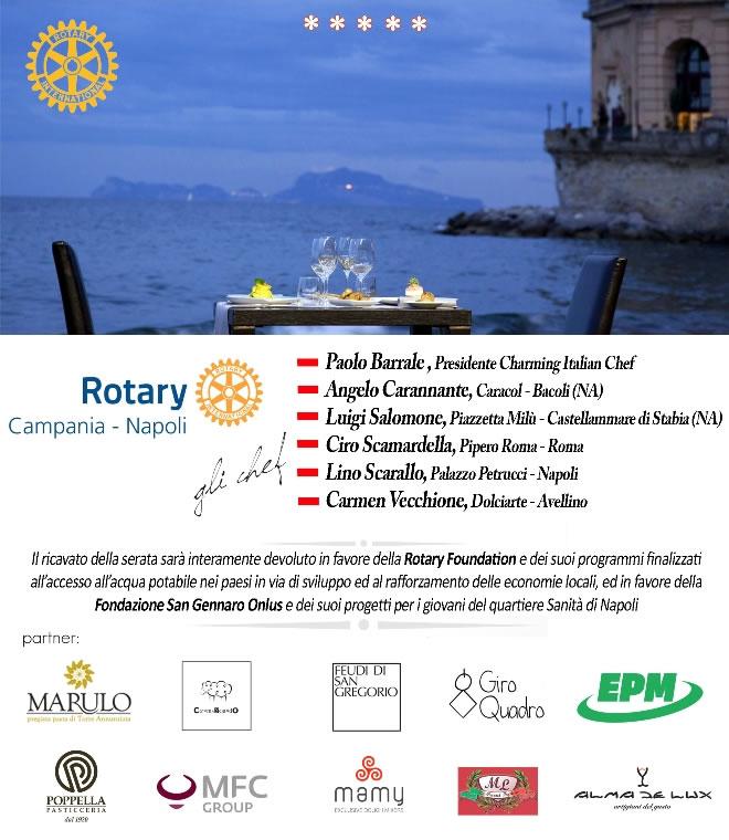 Cena di beneficenza rotary marulo