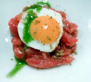 L'uovo rivelato cena degustazione dello chef Simone Profeta