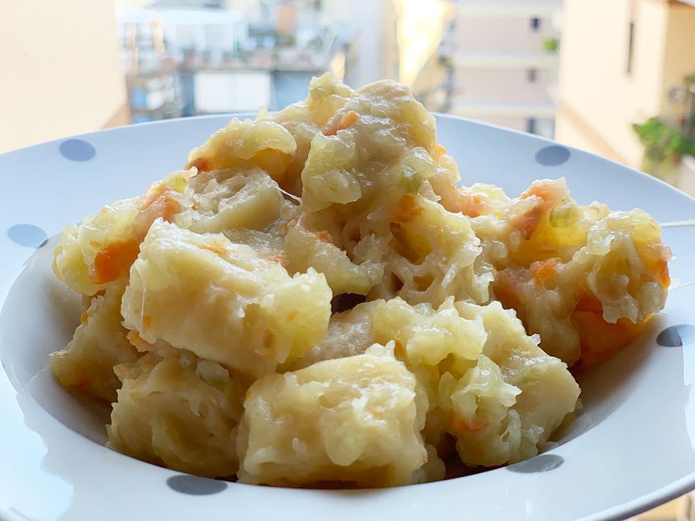Pasta e patate tritone oplontino
