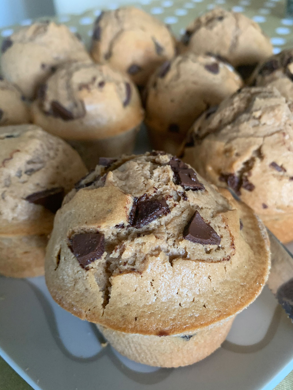 Muffin a Gianduia ricetta