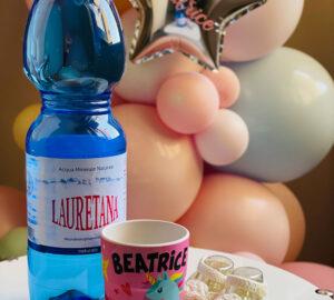L' Acqua lauretana: leggera, pura per mia figlia Beatrice